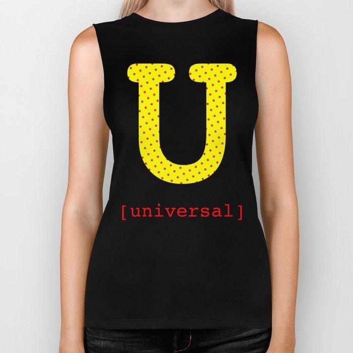 #U [universal] Biker Tank