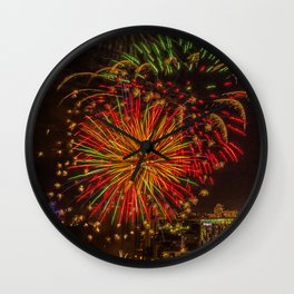 Firework collection 3 Wall Clock