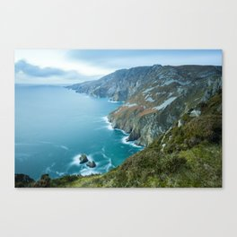 Sea Cliffs of Slieve League Canvas Print