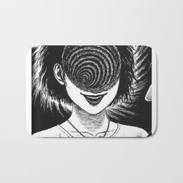 Uzumaki Panel (I) Bath Mat