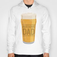 dad Hoodies featuring DAD by Kiley Victoria
