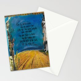 Farmers Blessing by Seattle Artist Mary Klump Stationery Cards