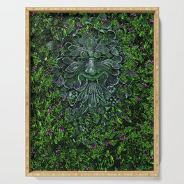 THE GREEN MAN Serving Tray