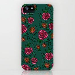 Happy Rose iPhone Case