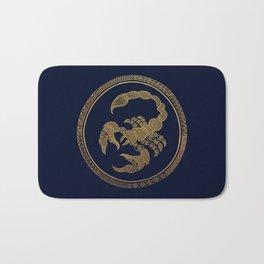 Golden Zodiac Series - Scorpio Bath Mat