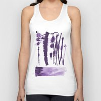 the strokes Tank Tops featuring Decorative strokes by Ioana Avram