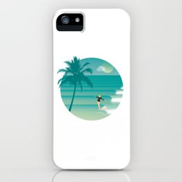 Toes to the nose iPhone Case