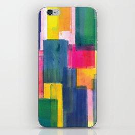 Color Block Series: Rooftops iPhone Skin
