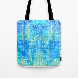 Celestrial Conversation Tote Bag