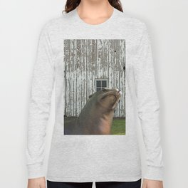 Photobomb at the Barn Long Sleeve T-shirt