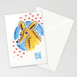 Fuzzy Stationery Cards