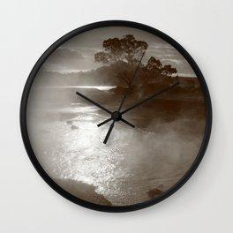 Sleeping volcano Wall Clock
