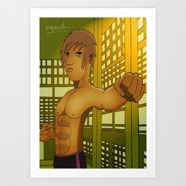 Dojo Master Art Print