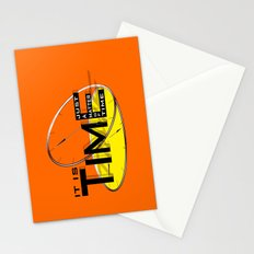 It's just a matter of time Stationery Cards