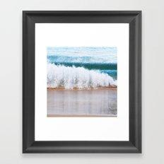 Maui: Crash Framed Art Print
