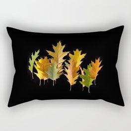 Variety coloured autumn oak leaves Rectangular Pillow