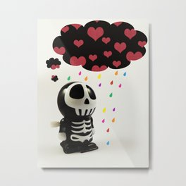 Automatons Have Feelings Too Metal Print