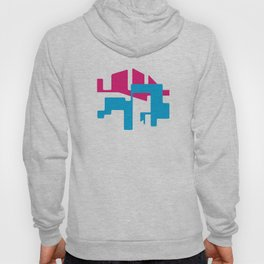 LINES AND TROUBLES Hoody
