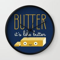 snl Wall Clocks featuring Spread the Word by David Olenick