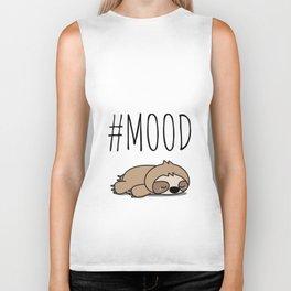 #MOOD - Sleepy Sloth Biker Tank