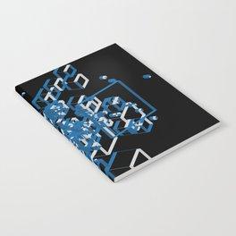 3D Futuristic GEO Line II Notebook