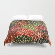 Floral Abstract 7 Duvet Cover