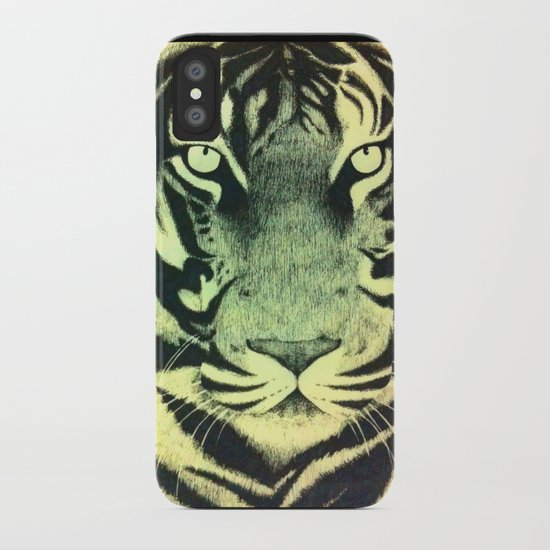 Be a Tiger (Yellow) iPhone Case