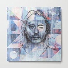 Thom Yorke - Where I End and You Begin Metal Print