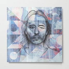 Thom Yorke - Where I End and You Begin Metal Print