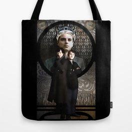Art Nouveau SHERLOCK Holmes, John Watson and Moriarty Tote Bag