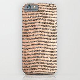 Zigzag Tan Gradient iPhone Case