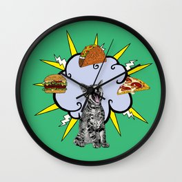 Cat Food Wall Clock