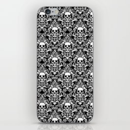 Skull Damask iPhone Skin