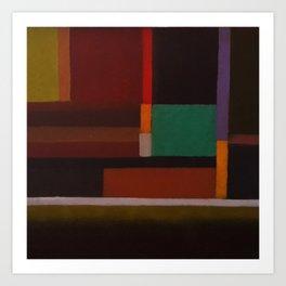 Parallel Geometry Art Print