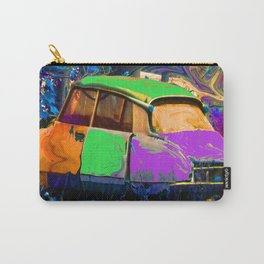 Psychedelic Citroen Carry-All Pouch