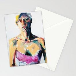 Portrait of Eileen Grogan Stationery Cards