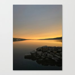Golden Morning on Seneca Lake Canvas Print