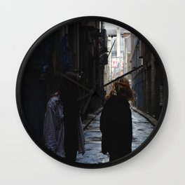 Laneways Wall Clock