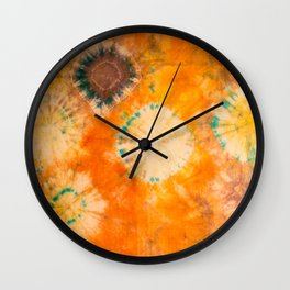 sunset in july Wall Clock