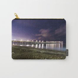 Ventura pier, CA. night landscape Carry-All Pouch