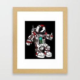 astronaughty Framed Art Print