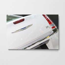 Chrysler 300C Back Light and Logo Metal Print
