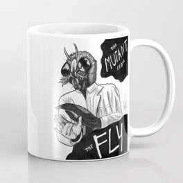 The Mutant from the Fly Coffee Mug