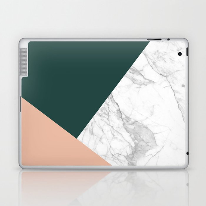 Stylish Marble Laptop & iPad Skin by hellograce