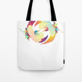 Cranes - The Lovers Tote Bag
