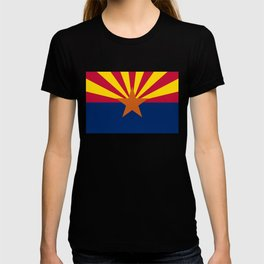 Arizona State flag, Authentic scale & color T-shirt