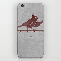 the bird is the f-word iPhone & iPod Skin