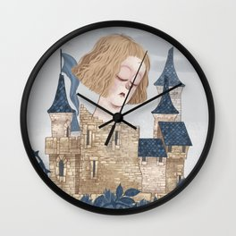 Joan of Arc - Captivity Wall Clock