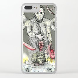 God of the Lake Clear iPhone Case