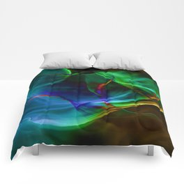 Aurora Blue Comforters